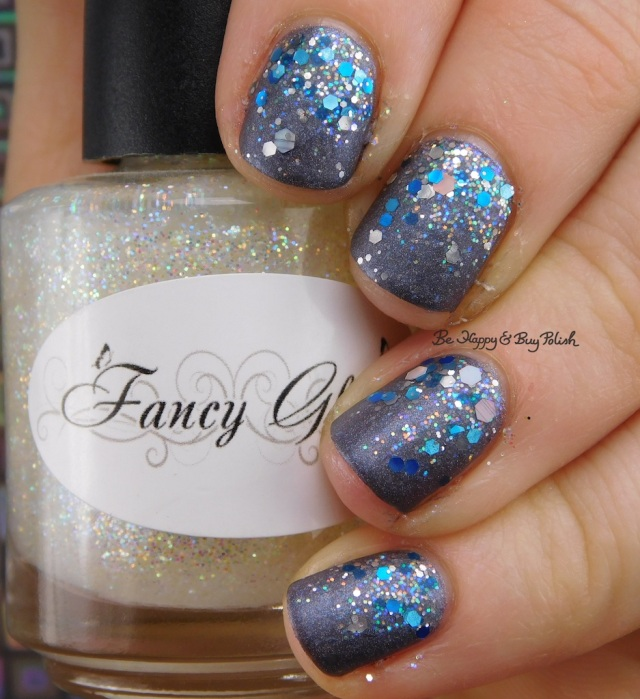 Fancy Gloss Twinkle Lights, CrowsToes Nail Color Her Goose Got Iced, Celestial Cosmetics Saphira | Be Happy And Buy Polish