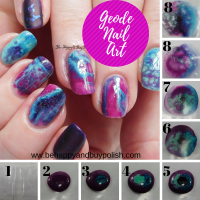 Geode Nail Art Tutorial