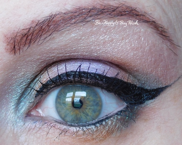 Glamour Doll Eyes Cloud Coverage, Fiji Mermaid, Cozy Sweater, Midnight Kiss, Unicorns with Attitude eye makeup look | Be Happy And Buy Polish
