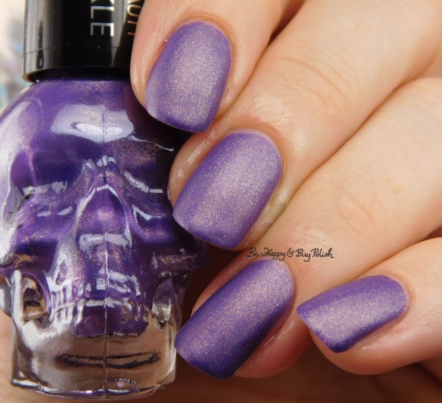 Hot Topic Blackheart Beauty Purple Matte Sparkle | Be Happy And Buy Polish