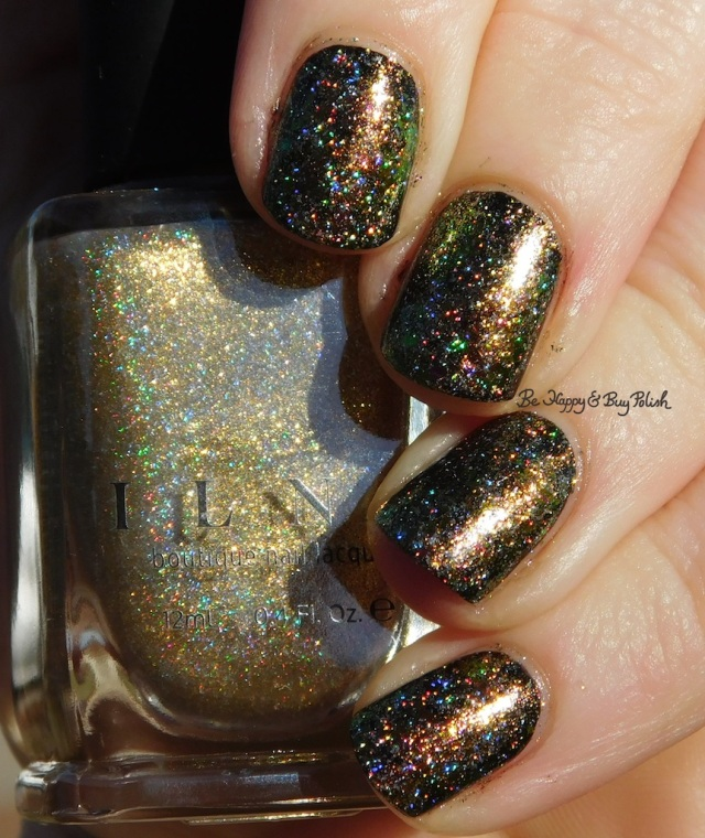 ILNP Versailles, Brilliance sponged nail art holographic | Be Happy And Buy Polish