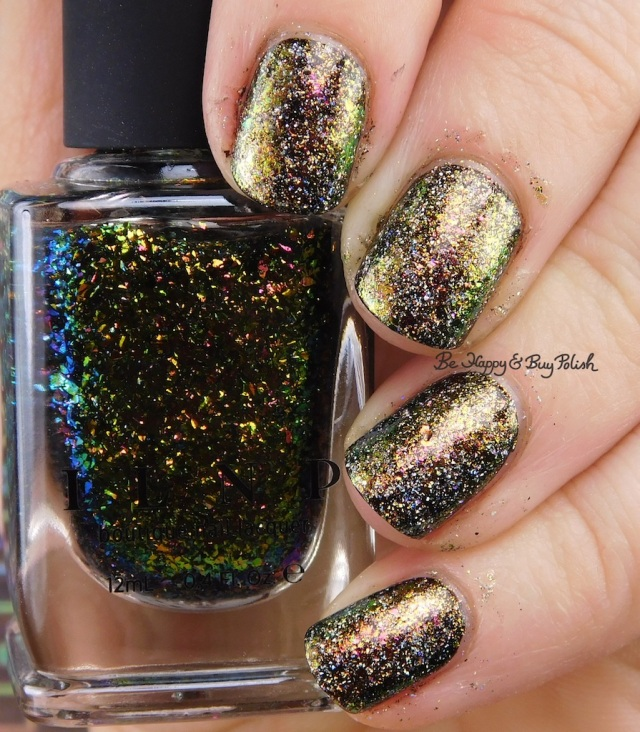 ILNP Versailles, Brilliance sponged nail art | Be Happy And Buy Polish