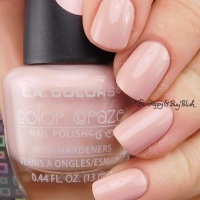 L.A. Colors Color Craze nail polish in Blushed