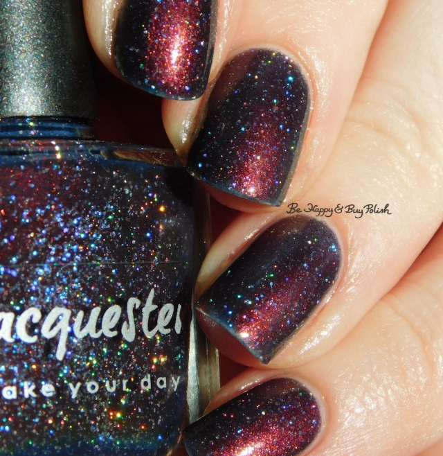Lacquester Mortal Coil holographic close up | Be Happy And Buy Polish