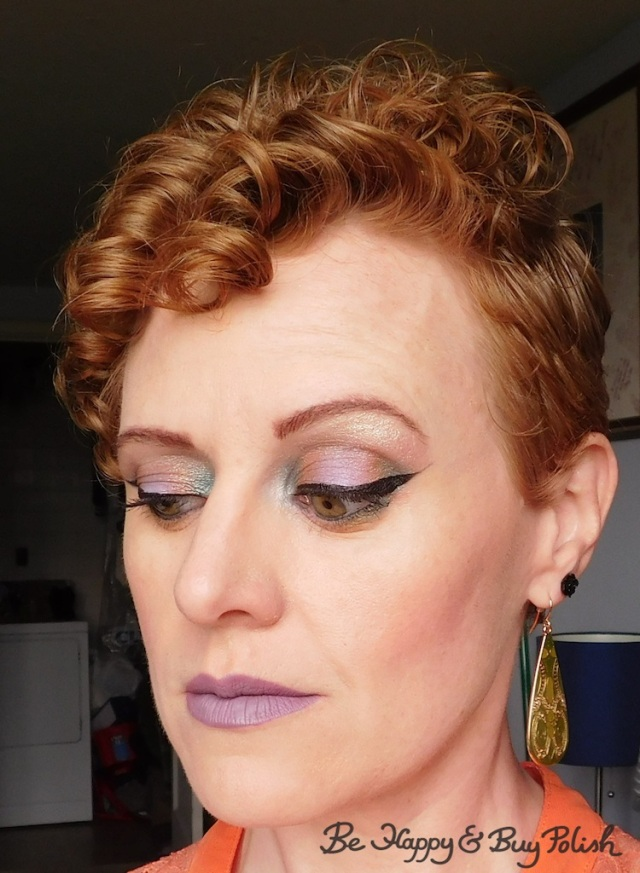 makeup for redheads with Glamour Doll Eyes, Wet N Wild, Colour Pop, LA Girl | Be Happy And Buy Polish