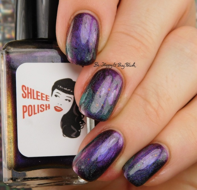 Shleee Polish Annihilation, Don Deeva Cardiac Arrest'ed thermal magnetic flame drag marble nail art | Be Happy And Buy Polish