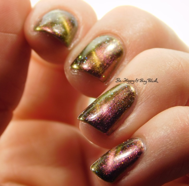 Shleee Polish Stereotomy multichrome magnetic nail polish | Be Happy And Buy Polish