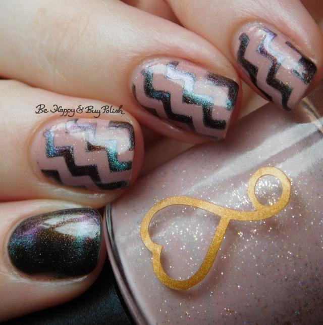 6 Harts Heart of the Milky Way, Tonic Polish Xtravaganza magnetic nail polish natural light   Be Happy And Buy Polish