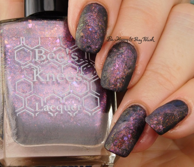 Bee's Knees Lacquer Tough, Young, and Morally Flexible magnetic nail polish | Be Happy And Buy Polish