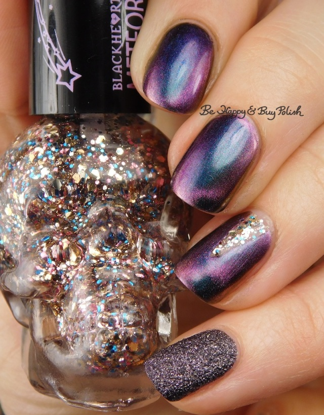 Blackheart Beauty Rose Gold Meteor Shower, Formula X Orion's Belt, Tonic Polish Drag Race | Be Happy And Buy Polish