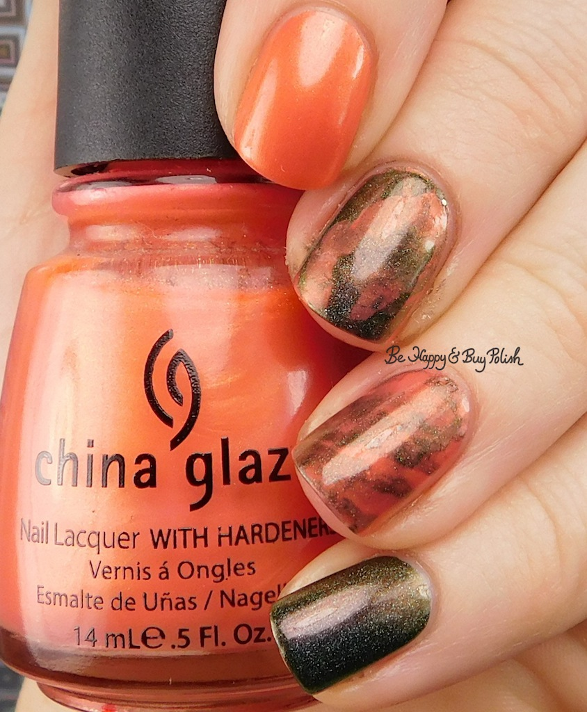 Multichrome Smooshy Nail Art With China Glaze And Great Lakes