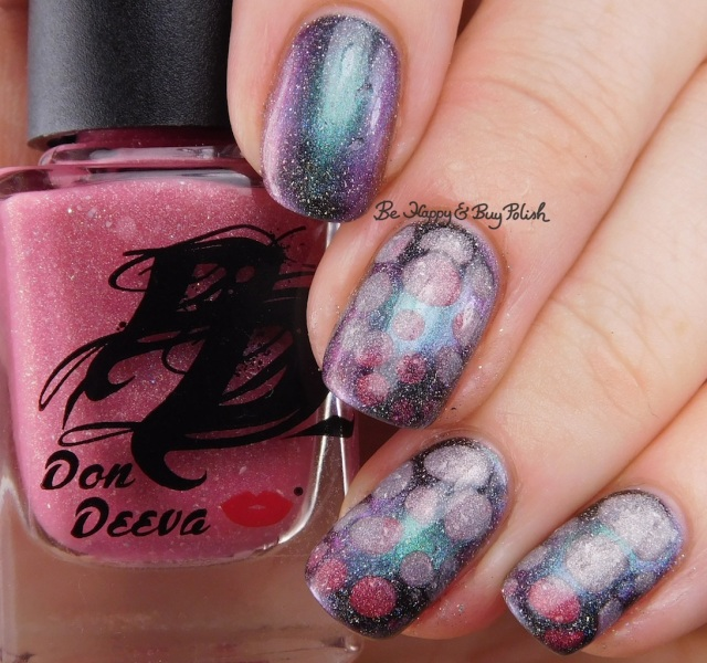 Don Deeva Acid Crush cold state, Shleee Polish Dream Within a Dream magnetic thermal blobbicure | Be Happy And Buy Polish