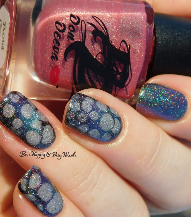 Don Deeva Acid Crush warm state, Shleee Polish Dream Within a Dream magnetic thermal blobbicure holographic | Be Happy And Buy Polish