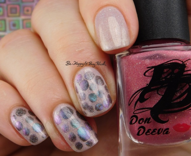 Don Deeva Acid Crush warm state, Shleee Polish Dream Within a Dream magnetic thermal blobbicure | Be Happy And Buy Polish