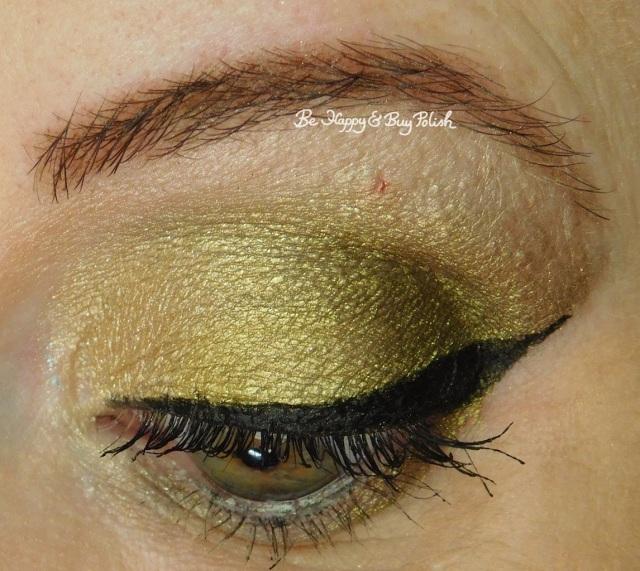 eyeshadow look with Juvia's Place Wodaabe, Saucebox Cosmetics Wealth, Infinity eyeshadow Mind closeup | Be Happy And Buy Polish