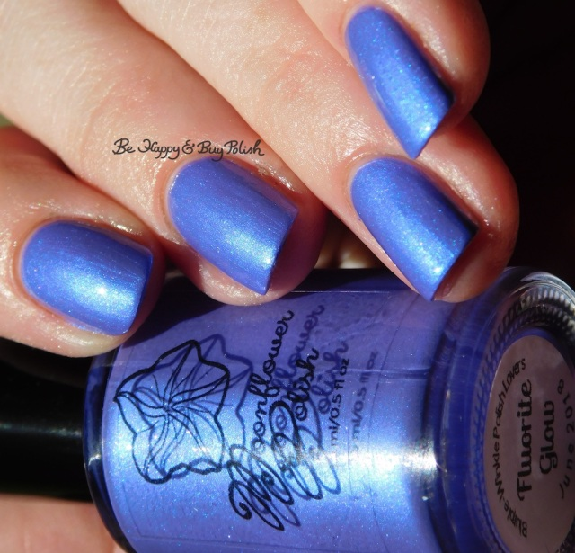Moonflower Polish Fluorite Glow | Be Happy And Buy Polish
