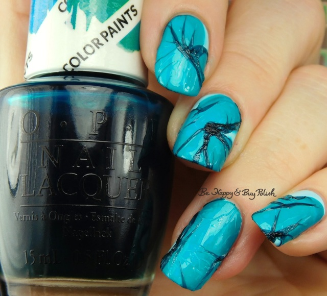 OPI Colors Paints Turquoise Aesthetic, OPI Sailing and Nailing veiled nails | Be Happy And Buy Polish