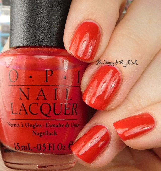 OPI The Thrill of Brazil | Be Happy And Buy Polish