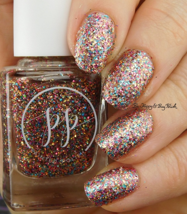 Painted Polish Joie de Vivre, CND Creative Play Pinkidescent | Be Happy And Buy Polish