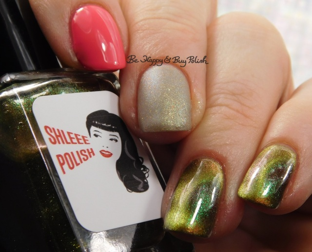 Shleee Polish Area X, Jessica Cosmetics Starfish Glow, Polish 'M Tip Tau-pe Through the Tulips manicure   Be Happy And Buy Polish