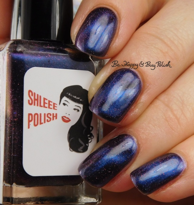 Shleee Polish Cosmological over Fancy Gloss Sodalite | Be Happy And Buy Polish