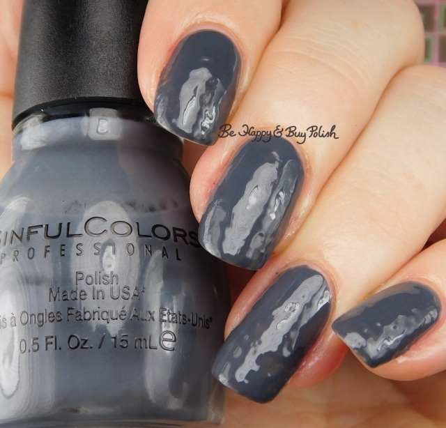 Sinful Colors Transforming Top Coat Concrete Jungle | Be Happy And Buy Polish