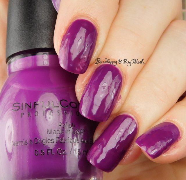 Sinful Colors Transforming Top Coat Punk the Town | Be Happy And Buy Polish
