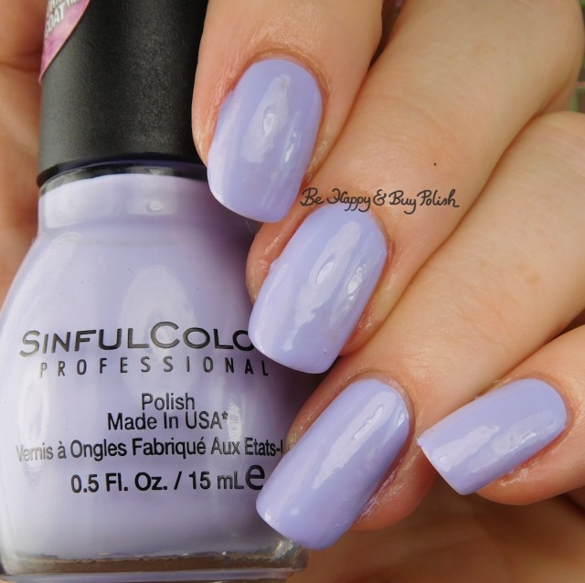 Sinful Colors Transforming Top Coat Purpunk | Be Happy And Buy Polish