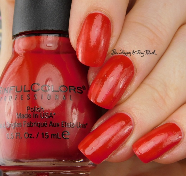 Sinful Colors Transforming Top Coat Redrum | Be Happy And Buy Polish