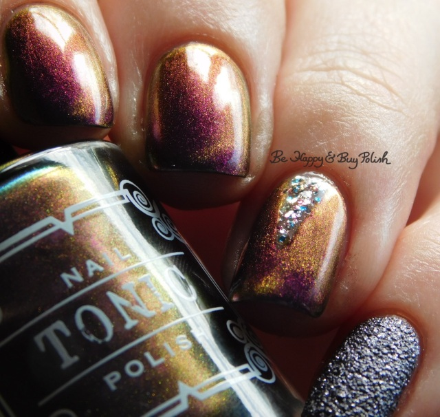 Tonic Polish Drag Race, Blackheart Beauty Rose Gold Meteor Shower, Formula X Orion's Belt | Be Happy And Buy Polish