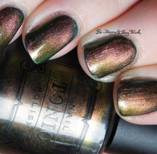 Tonic Polish Flawless magnetic nail polish over ILNP High Tide | Be Happy And Buy Polish