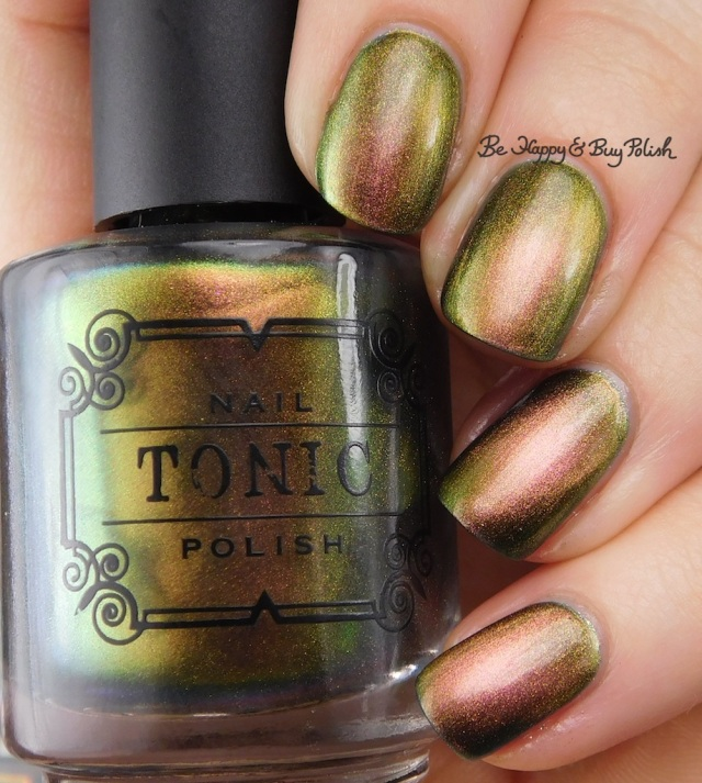 Tonic Polish Flawless over ILNP High Tide | Be Happy And Buy Polish