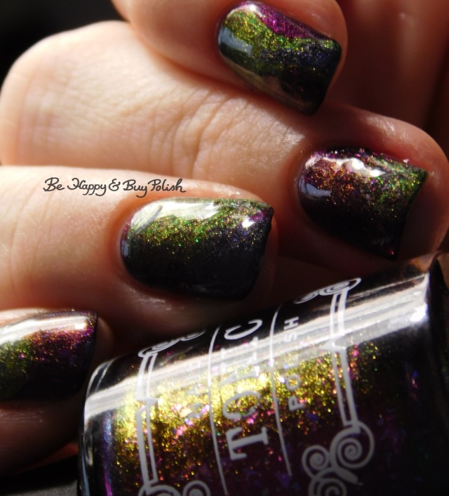 Tonic Polish Zeppo, Flawless, Diva Royale, Dorothy 2017 color shift | Be Happy And Buy Polish