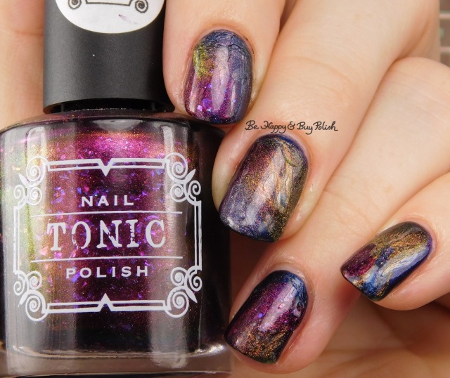 Tonic Polish Zeppo, Flawless, Diva Royale, Dorothy 2017 veil nail art | Be Happy And Buy Polish