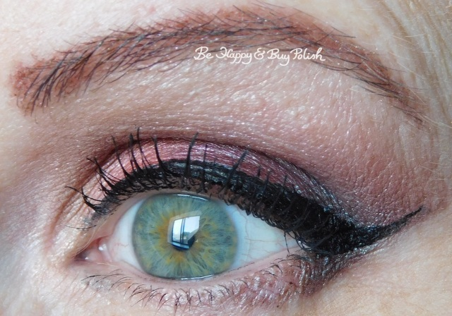 eye makeup with Glamour Doll Eyes Carbon Copy, Sherbert, Vamp, Teeez Cosmetics Sweet Sins | Be Happy And Buy Polish
