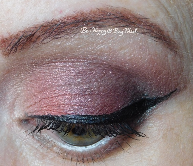 eyeshadow look with Glamour Doll Eyes Carbon Copy, Sherbert, Vamp, Teeez Cosmetics Sweet Sins | Be Happy And Buy Polish