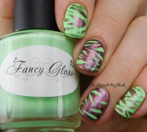 Fancy Gloss Secret Garden, Tonic Polish Queen magnetic animal print | Be Happy And Buy Polish