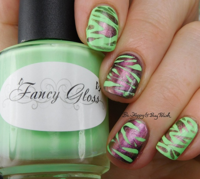 Fancy Gloss Secret Garden, Tonic Polish Queen magnetic animal print | Be Happy And Buy Polish