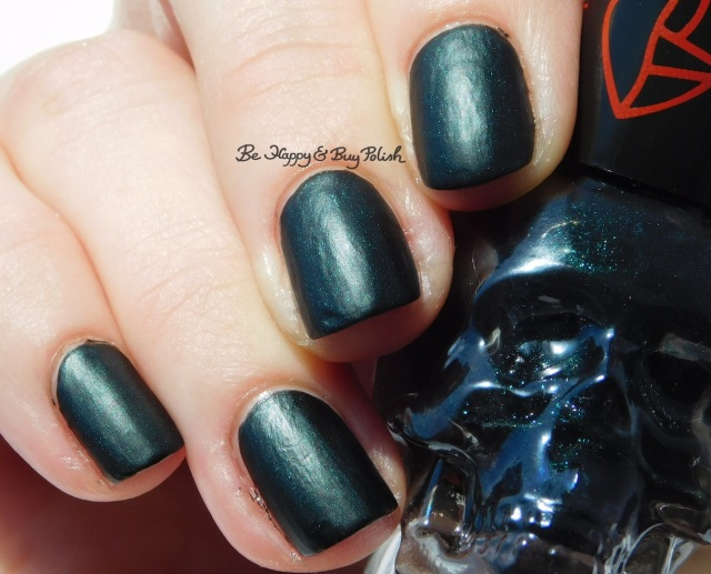 Hot Topic Blackheart Beauty Vampire Matte Green Vamp Satin Matte sun photo | Be Happy And Buy Polish