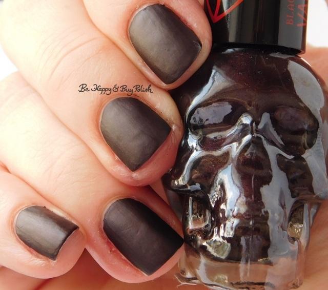 Hot Topic Blackheart Beauty Vampire Matte Plum Vamp Satin Matte | Be Happy And Buy Polish
