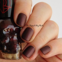 Hot Topic Blackheart Beauty Vampire Matte nail polish collection [swatch + review]
