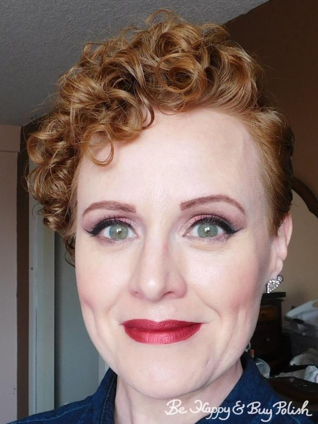 Makeup with Jordana Black Pearl Metallic, Glamour Doll Eyes, Teeez Cosmetics | Be Happy And Buy Polish