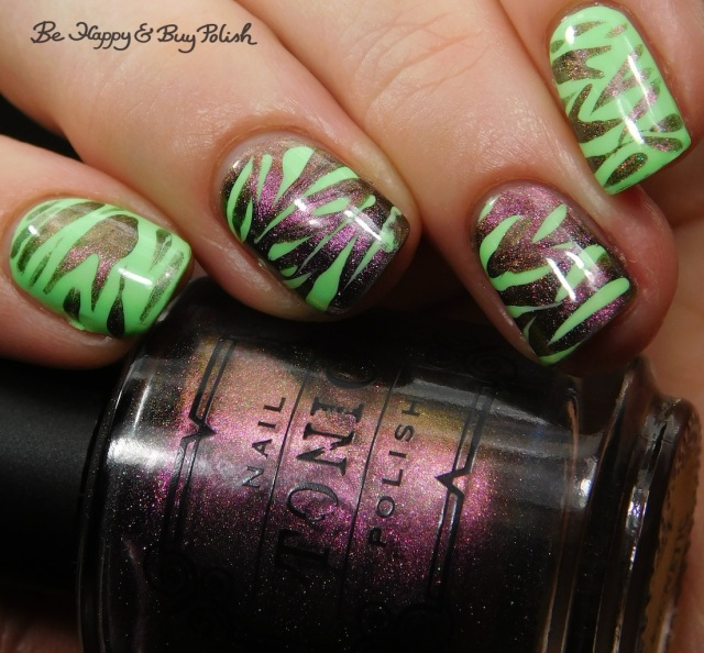 Tonic Polish Queen, Fancy Gloss Secret Garden magnetic animal print | Be Happy And Buy Polish
