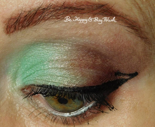 Glamour Doll Eyes Mackinac, FrankenGlamour, Vamp eyeshadow look closeup | Be Happy And Buy Polish