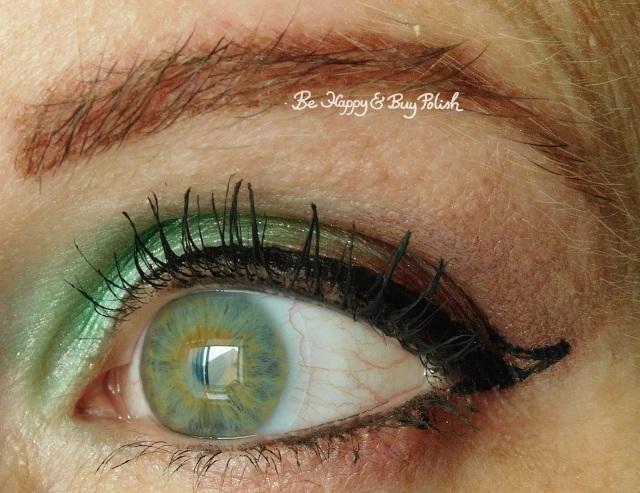 Glamour Doll Eyes Mackinac, FrankenGlamour, Vamp eyeshadow look | Be Happy And Buy Polish