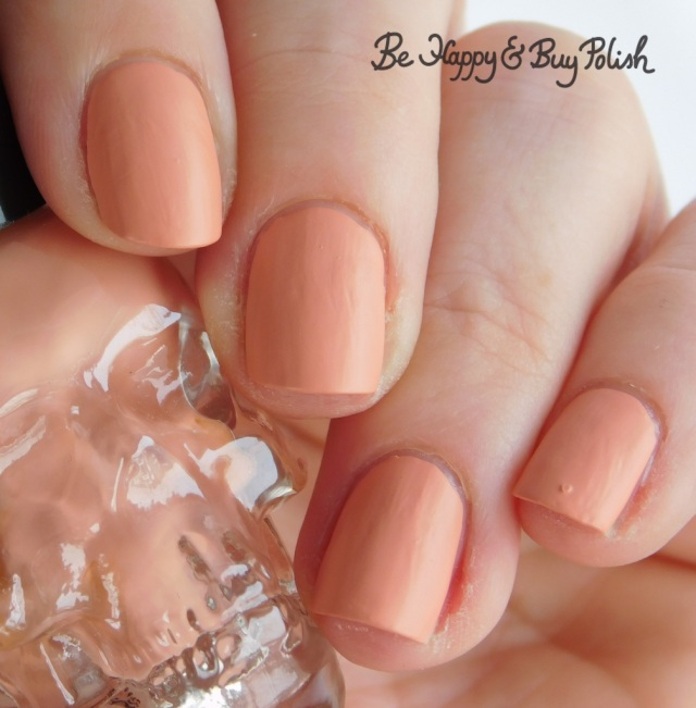 Hot Topic Blackheart Beauty Matte Nude | Be Happy And Buy Polish
