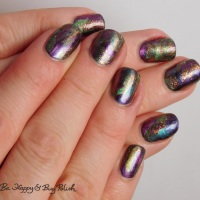 Magnetic Manicure with Bee's Knees Lacquer, Tonic Polish, Shleee Polish