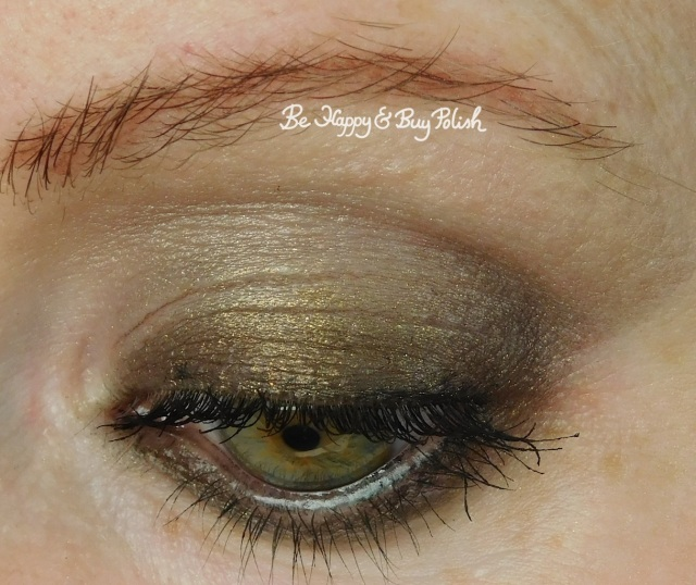 No Photos Please eyeshadow look with Adoration, Discrete close up | Be Happy And Buy Polish