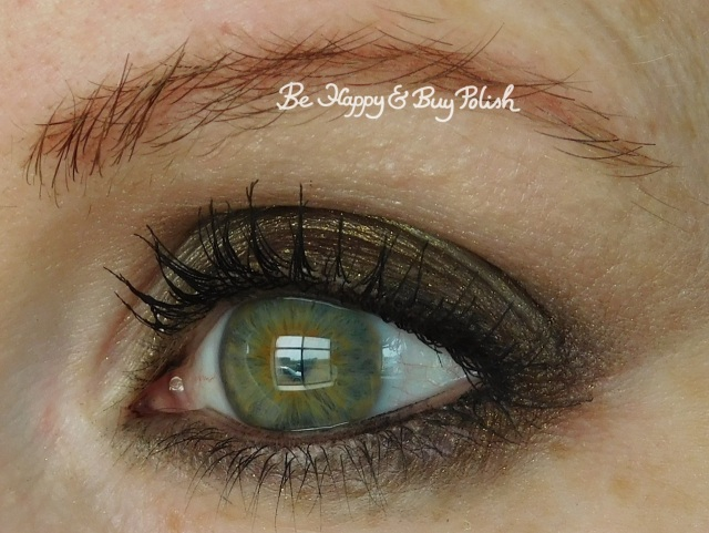 No Photos Please eyeshadow look with Adoration, Discrete | Be Happy And Buy Polish