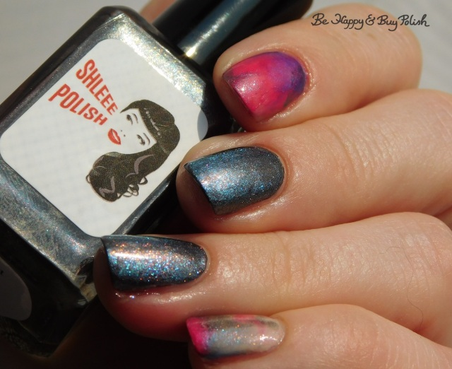 Shleee Polish Ghost Bird, Sinful Colors Shimmy Shimmy, Moonflower Polish Sprinkles, L.A. Colors Swiss Coffee | Be Happy And Buy Polish